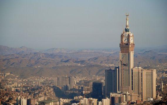 Lugares de interés en La Meca